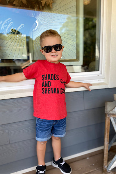 Shades and Shenanigans Toddler Graphic Tee