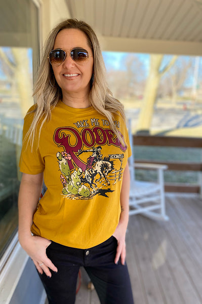 Take Me To The Rodeo Graphic Tee