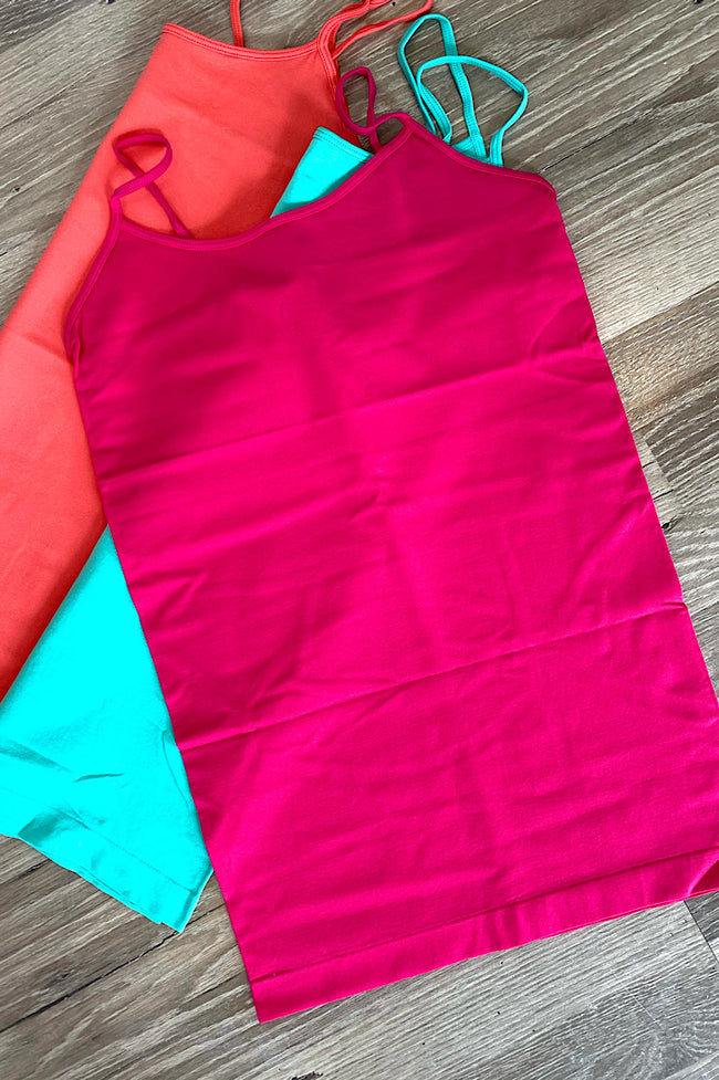 Long Basic Cami-The Bright Colors