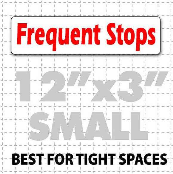 Frequent Stops Magnet for Vehicles 12