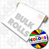 "Blank white magnetic sign material for use on cars, trucks and vans. 030 mil blank magnet roll sheeting in bulk 25'x 24""roll."