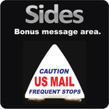 US Mail Carrier Rooftop Car Sign | Postal Mail Delivery Car Topper | Magnetic Mount - Wholesale Magnetic Signs