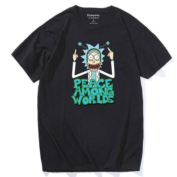 Rick And Morty Peace Among Worlds 2 T-Shirt