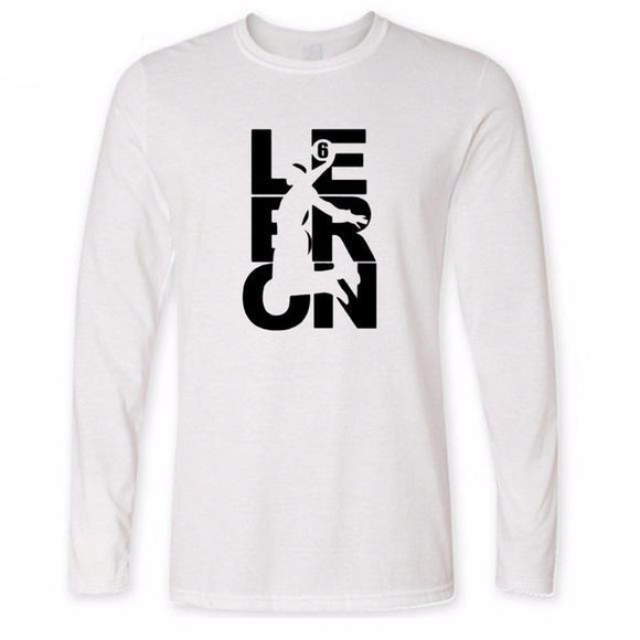 Lebron Dunk Logo Long Sleeve Shirt