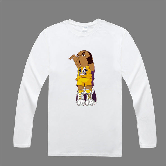 Kobe Cartoon Long Sleeve Shirt – Street Clothes Kings 05fc54aca