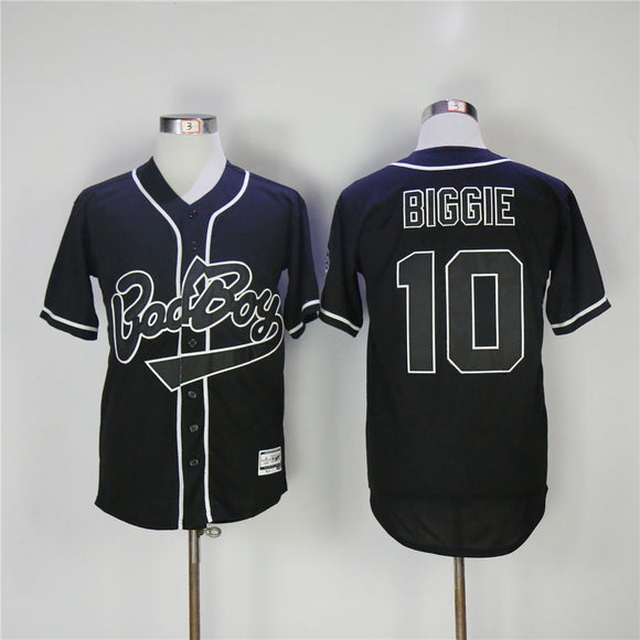 Notorious BIG Bad Boy Baseball Jersey
