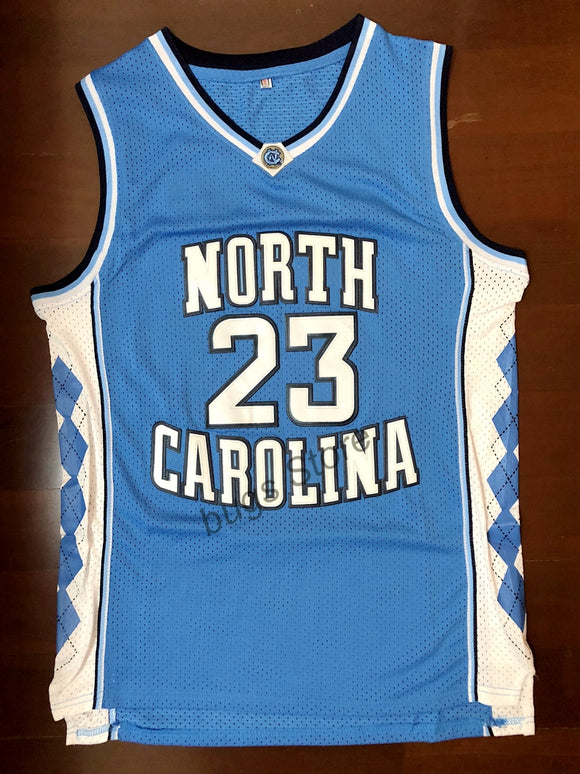 Michael Jordan Throwback North Basketball Jersey