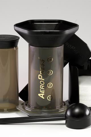 Brewing with AeroPress Brewer