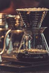Brewing with Kalita Wave Dripper
