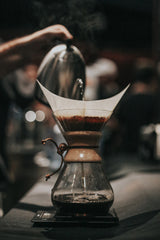 Brewing with Chemex Brewer