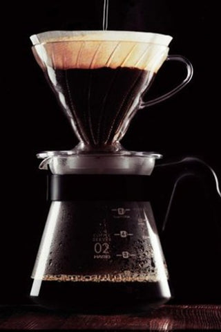 Brewing with Hario V60 Dripper
