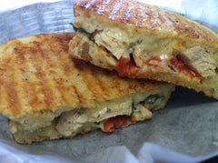 Chicken Mozzarella Tomato Panini