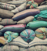 colombian coffee in colorful bags