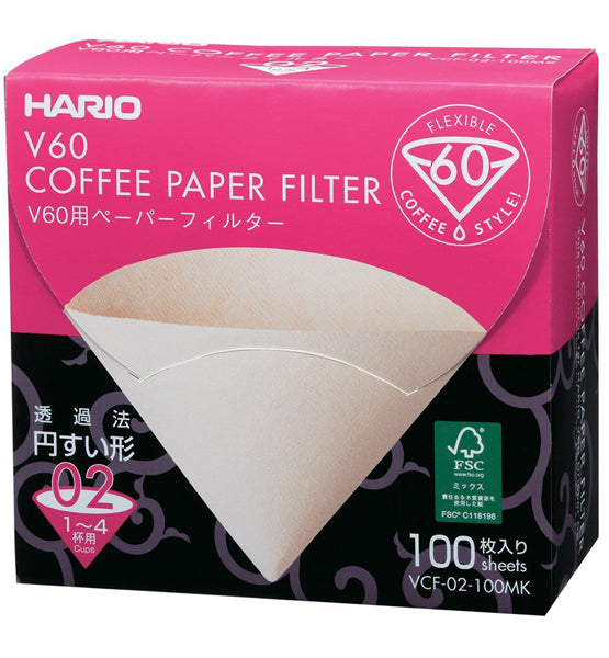 Hario V60 Coffee Filters 02