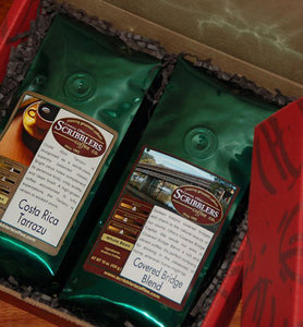 Scribblers Coffee Gift Box