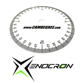 Mike Belben Degree Wheel - Xenocron Tuning Solutions