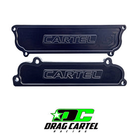 Drag Cartel Intake and Exhaust Port Covers - Xenocron Tuning Solutions