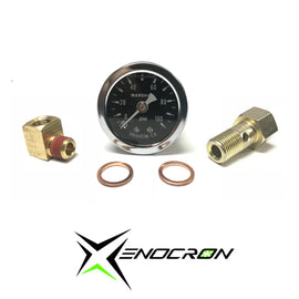 Xenocron Fuel Pressure Gauge Kit for Stock Honda Fuel Filters