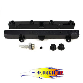 Golden Eagle TRI-FLOW K20/K24 Fuel Rail Black - Xenocron Tuning Solutions