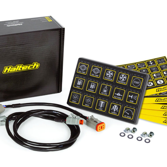 Haltech CAN Keypad 8 button (2×4) HT-011501