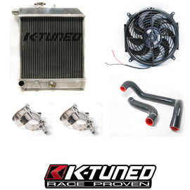 K-Tuned Passenger Side Radiator Kit