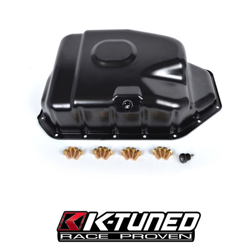 K-Tuned Steel Oil Pan - Xenocron Tuning Solutions