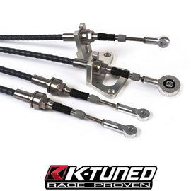 K-Tuned Race-Spec Shifter Cables and Trans Bracket