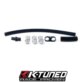 K-Tuned Heater Hose Adapter Kit (w/ hose & clamps)