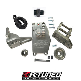 K-Tuned Water Plate w/ Alternator Brackets and Belt - Xenocron Tuning Solutions