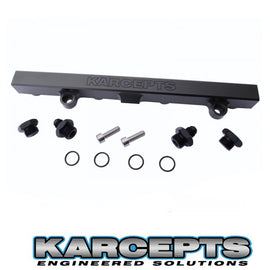 Karcepts Black/Engraved K-Series Fuel Rail