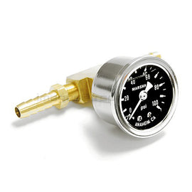 Marshall 100psi Liquid Filled Fuel Pressure Gauge
