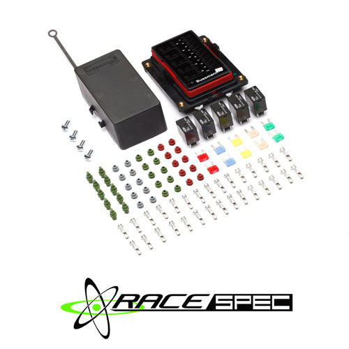 race spec d i y fused relay box xenocron tuning solutions Circuit Breaker at Run Nan Fuse Box