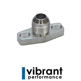 Vibrant Oil Drain Flange w/ integrated -10AN Fitting (for GT15-G - Xenocron Tuning Solutions