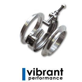 "Vibrant 3"" Stainless Steel V-Band Flange Assembly"