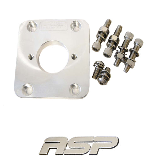 ASP Wilwood Brake Booster Delete Plate - Xenocron Tuning Solutions
