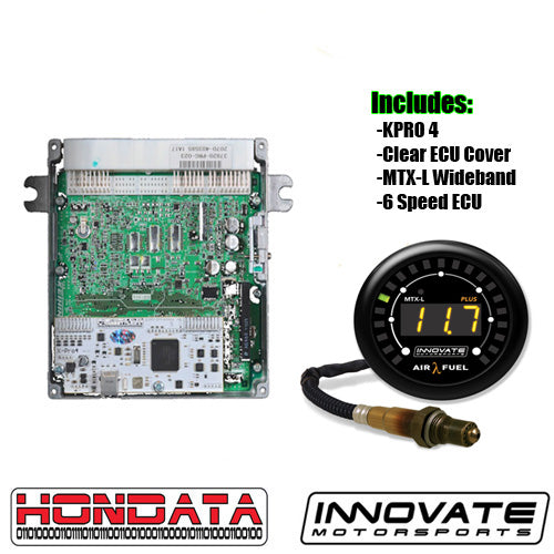 Hondata KPRO w/6 Speed ECU and MTX-L Plus Wideband