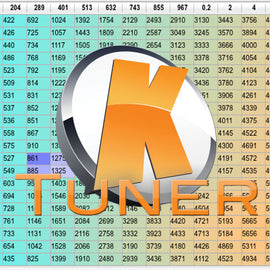Xenocron Basemap File for KTUNER - Xenocron Tuning Solutions