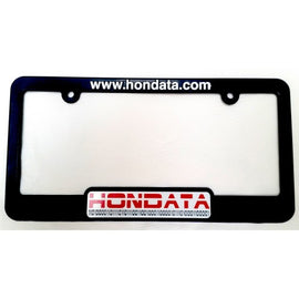 Hondata License Plate Frame - Xenocron Tuning Solutions