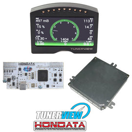 Hondata KPRO w/ 6 Speed ECU and Tunerview RD2 Dash - Xenocron Tuning Solutions