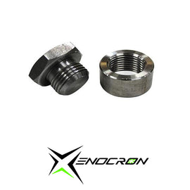 Steel bung and plug set - Xenocron Tuning Solutions