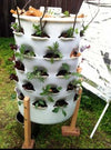 Terracotta Composting Garden Tower