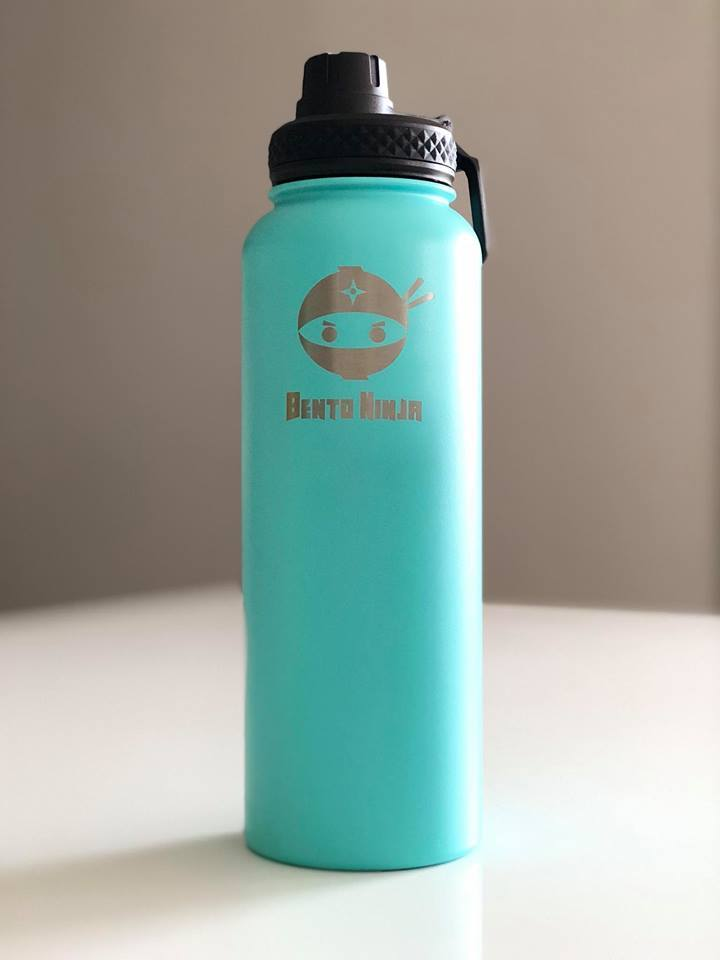 Bento Ninja 1.15L Stainless Steel Double Insulated Water Bottle
