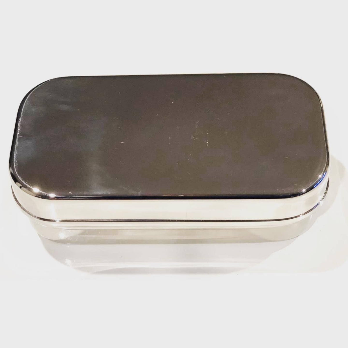 Stainless Steel Rectangle Snack Container