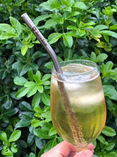 Made in NZ stainless steel straw