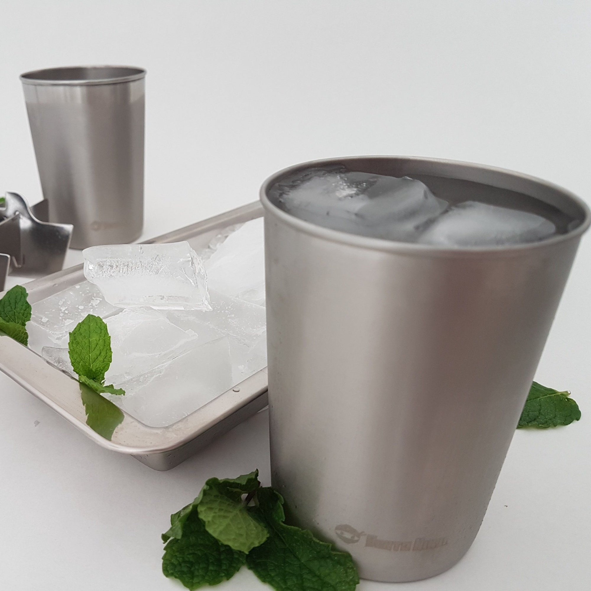 Stainless steel tumblers 2pc set