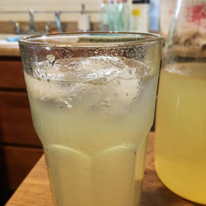 Maple Lemonade made with New York Maple Syrup, Lemon juice, and water.