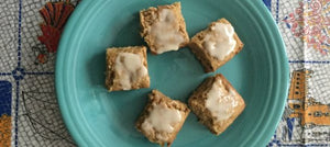 Maple Madness Blondies with Maple Spread