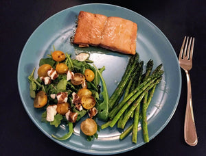 Sous Vide Maple-Hoisin Salmon