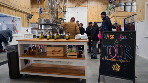 Take a tour of Riverside Maple Farms