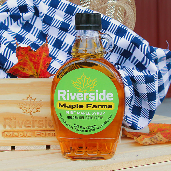 Pure Maple Syrup in Classic Glass Bottle (All Grades)